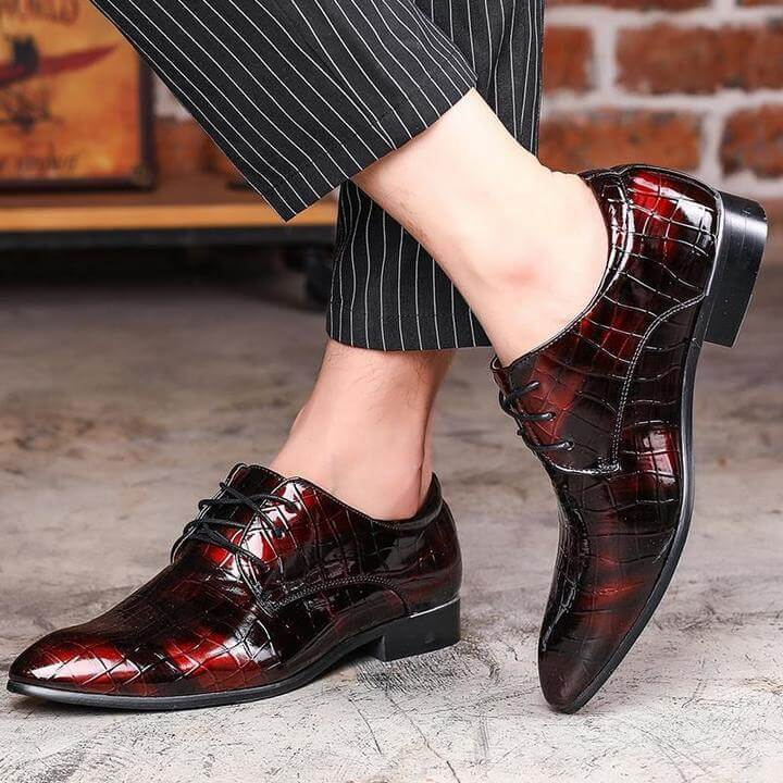 Men Comfortable Oxfords Leather Shoes