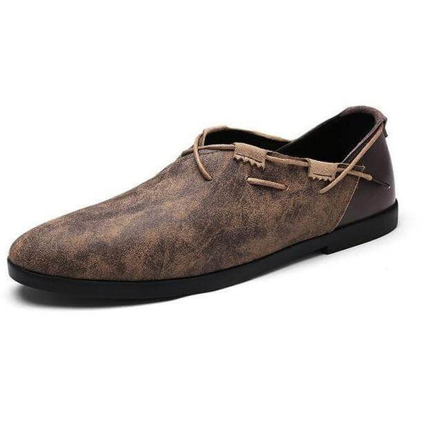 Men Casual Concise Breathable Soft Flat Shoes - FashionzR4U