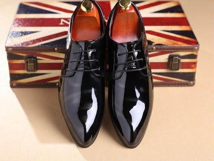 Men Fashion Casual Dress Leather Shoes - FashionzR4U