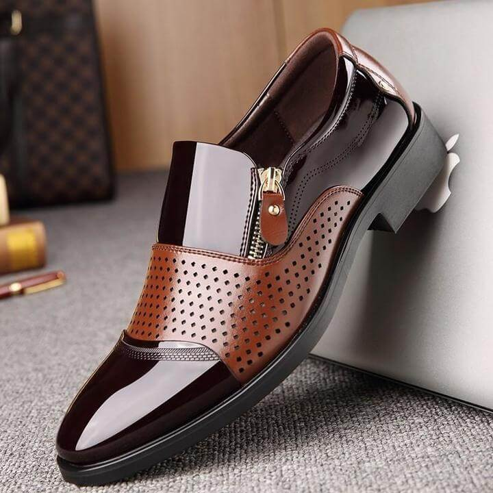 Men Microfiber Leather Shoes - FashionzR4U