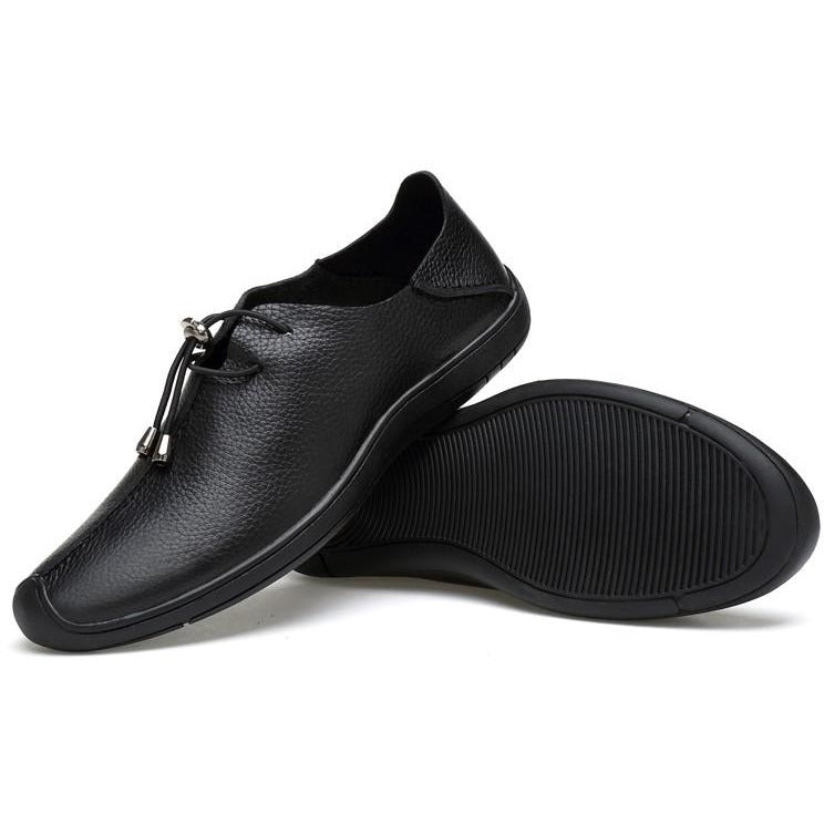Men`s Leather Casual Shoes Brogue Style Shoes - FashionzR4U