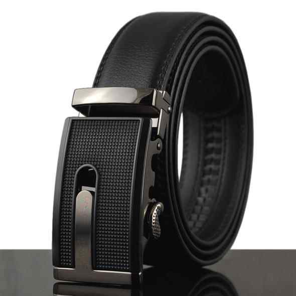 Men Luxury Metal Automatic Buckle Belts - FashionzR4U