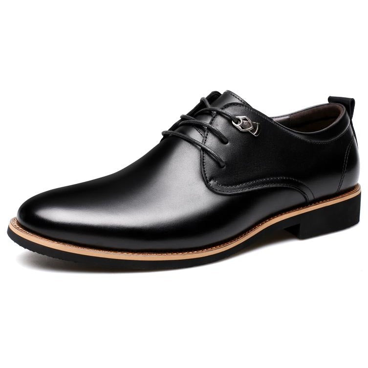 Simple Style Men`s Oxford Lace-up Leather Shoes - FashionzR4U