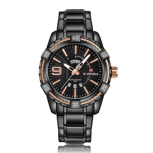 Men Luxury Brand Full Stainless Steel Sports Quartz Watch - FashionzR4U