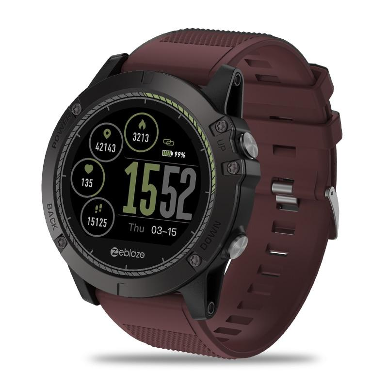 Men Zeblaze VIBE 3 HR IP67 Waterproof Activity Tracker Heart Rate Monitor Smartwatch
