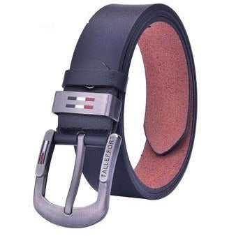 Men Luxury Microfiber Leather Belt - FashionzR4U
