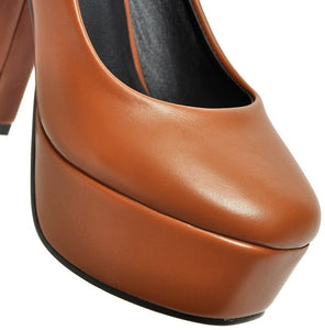 Women Square Toe Shoes - FashionzR4U