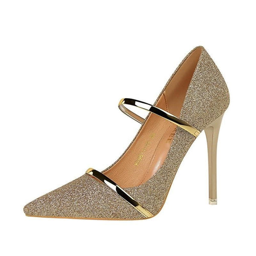 Women Sexy Escarpins Pointed Toe High Heels Shoes - FashionzR4U