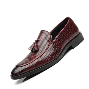 Men Weaving Elegant Luxury Comfort Casual Shoes