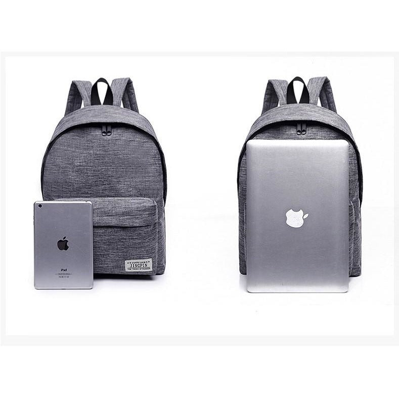 Unisex Canvas Students Backpacks - FashionzR4U