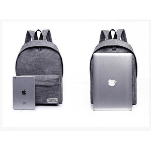 Unisex Canvas Students Backpacks