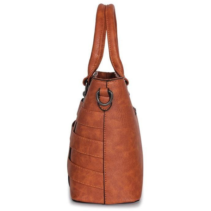 Women Luxury Leather Designer Shoulder Handbag - FashionzR4U