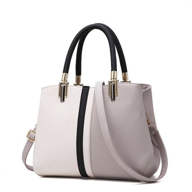 Women Patchwork Casual Handbags - FashionzR4U