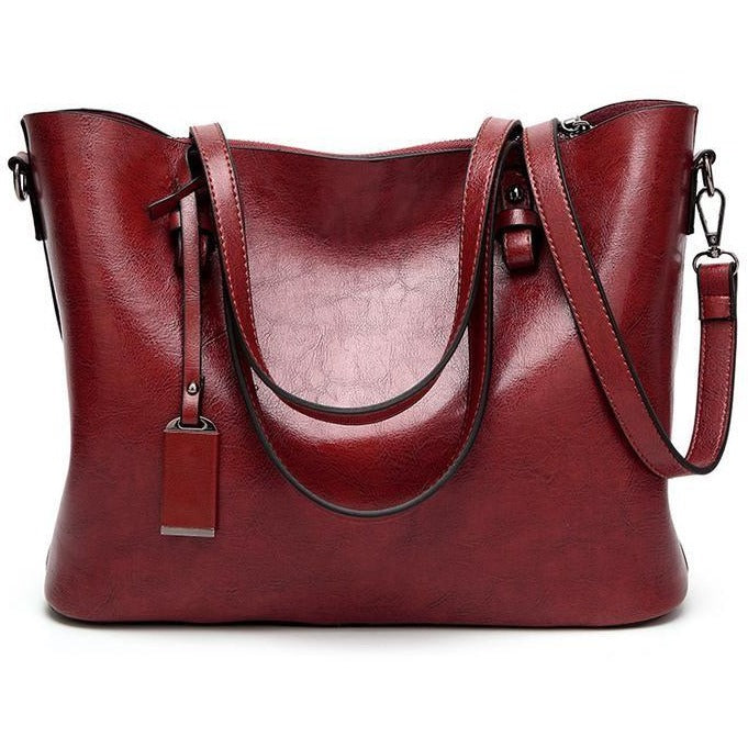 Women Simple Casual Tote Handbag - FashionzR4U