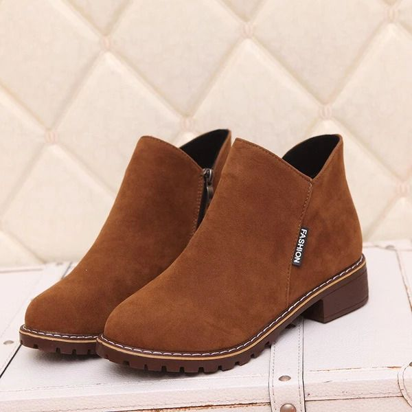 Women Winter High-cut Gladiator Casual Ankle Boots