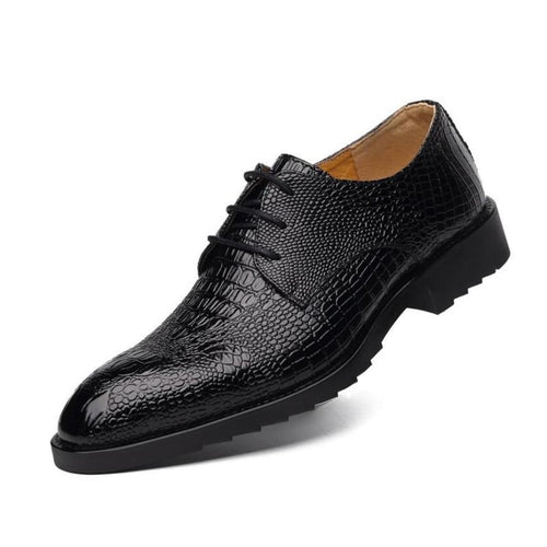 Men Business Casual Dress Leather Shoes - FashionzR4U