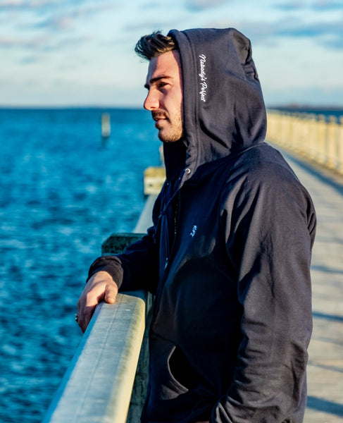 Men's Nobody's Perfect Full Zip Hooded Sweatshirt