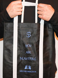 "women's ""You Are Beautiful"" Tote bag - Motivational Bags by Thomas Scott"