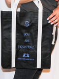 "Men's ""You Are Beautiful"" Tote bag - Motivating Bags by Thomas Scott"