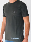 Men's Short Sleeve T-Shirt -Slate - Motivational Shirts by Thomas Scott