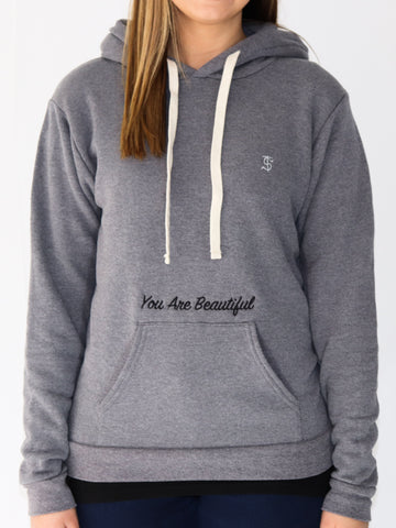 Women's Inspirational Sweatshirt -Heather Ash