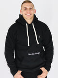 Men's Hooded Sweatshirt -Black - Motivational Sweatshirt by Thomas Scott