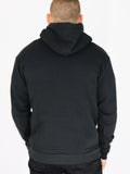 Men's Hooded Sweatshirt -Black - Positivity Sweatshirt by Thomas Scott