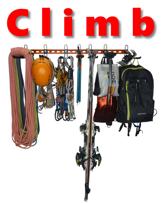 GearHooks® Climbing equipment racks