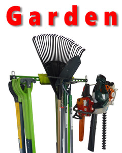 GearHooks® Garden Tools wall storage rack