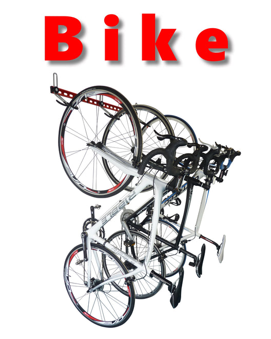 GearHooks® bike wall hangers and wall mounted bike racks