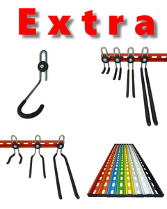 Extra GearHooks®and GearRails®