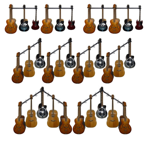 guitar wll mounting rack