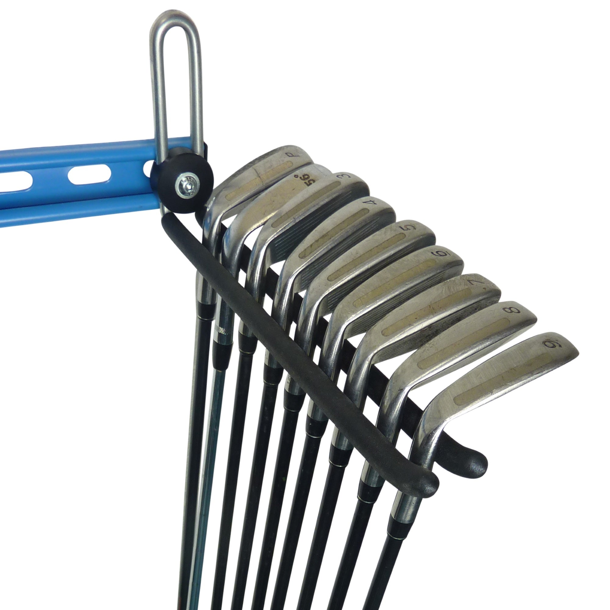 Golf club storage hook