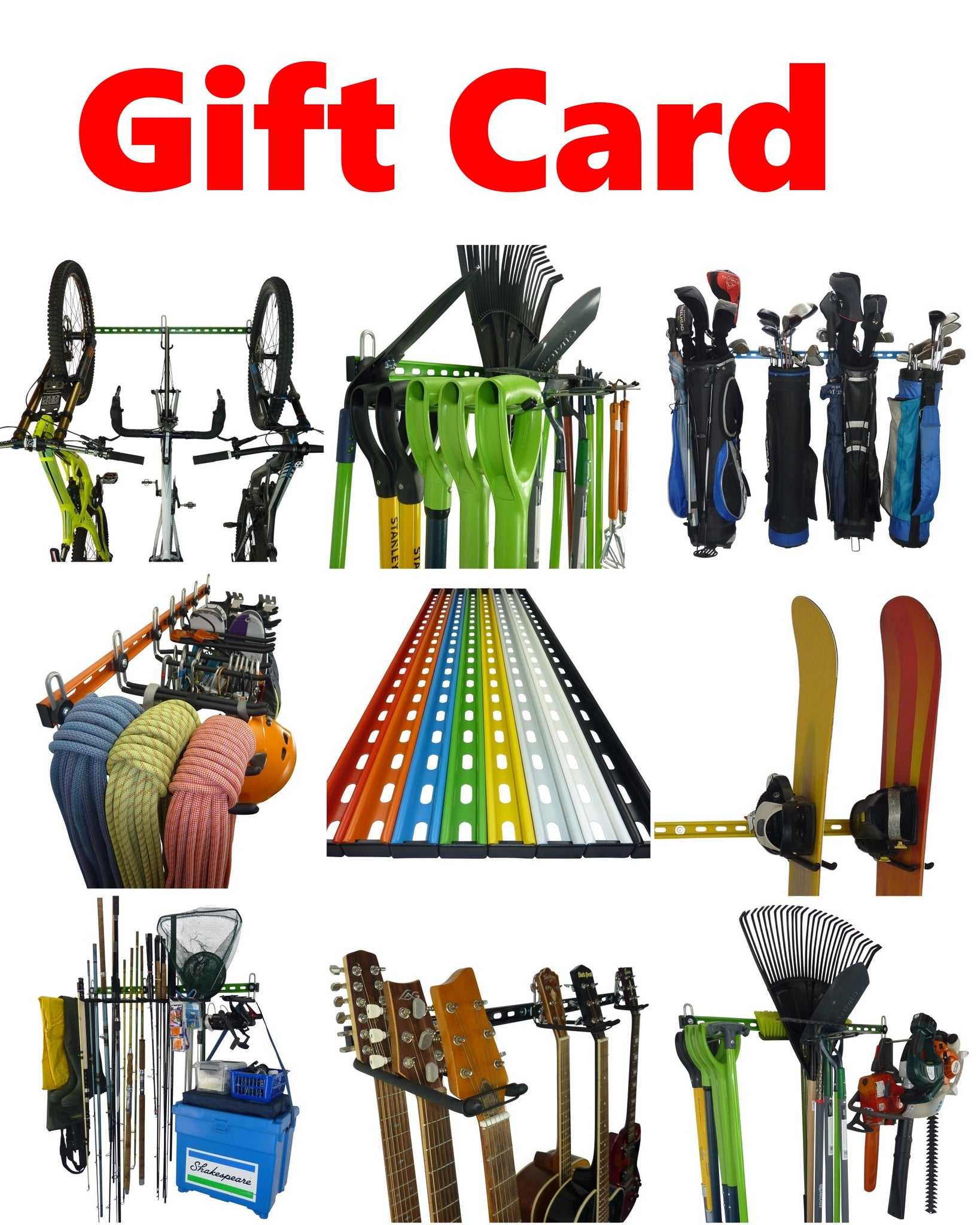 GearHooks Gift Card - the gift of extra space