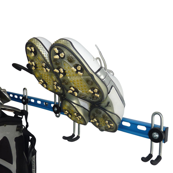 Golf shoe storage hook
