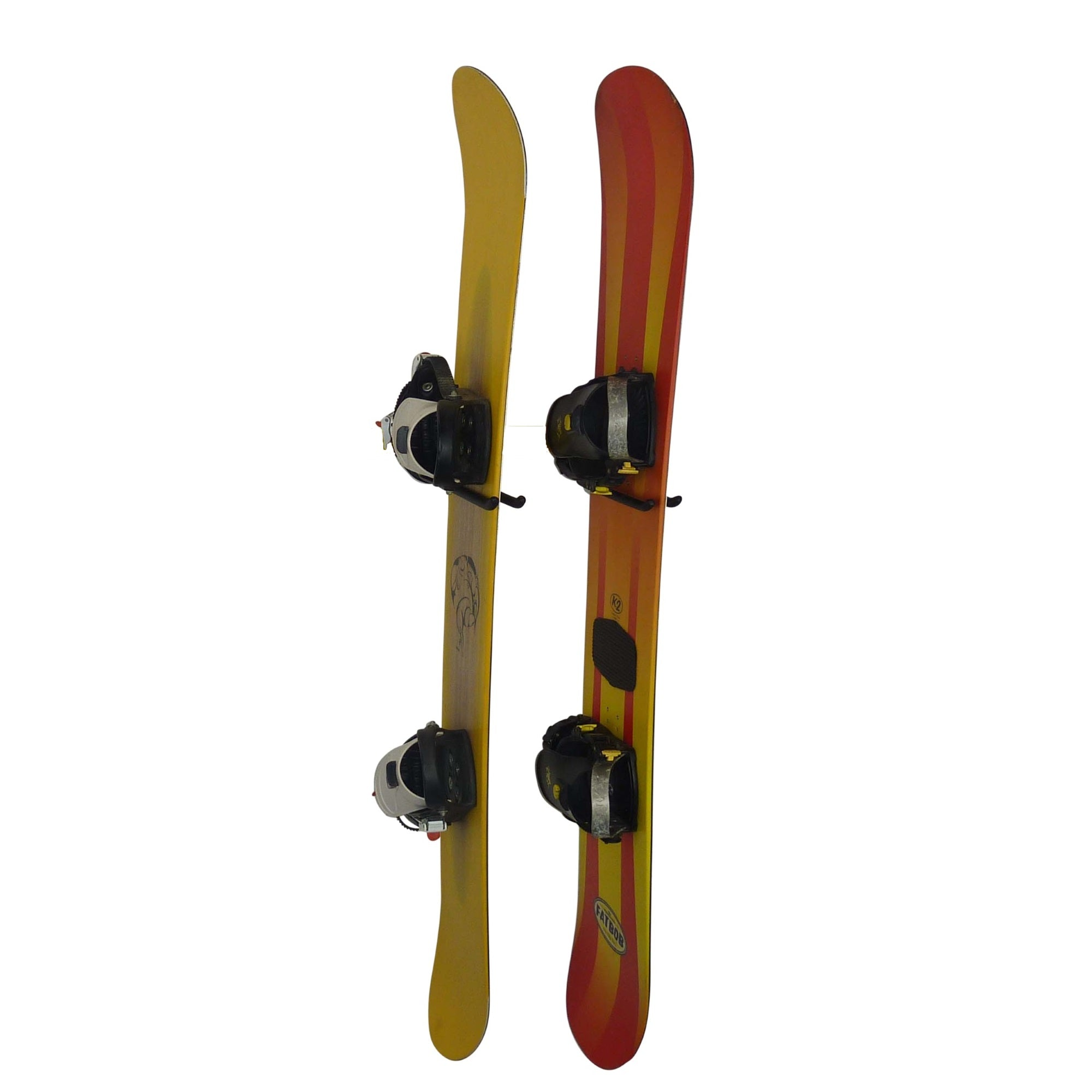 Snowboard Wall Mount - storage hook for 1 or 2  snowboards. GearHooks SBH1