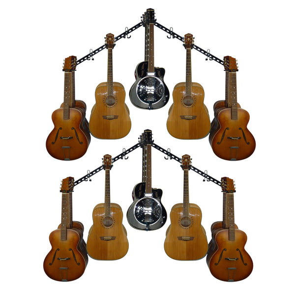 Guitar storage and display rack. GearHooks® GTR3-100/200/300