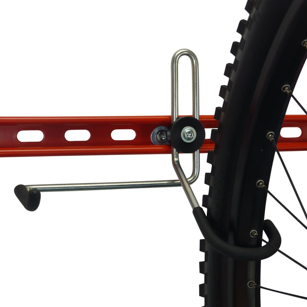 Bike Wall Hooks - extra GearHooks® for bikes, backpacks, helmets, tools and spare parts.