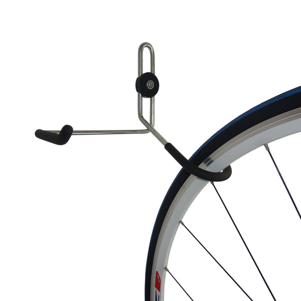 Bike wall hanger plus biking gear hook. GearHooks® B1Plus