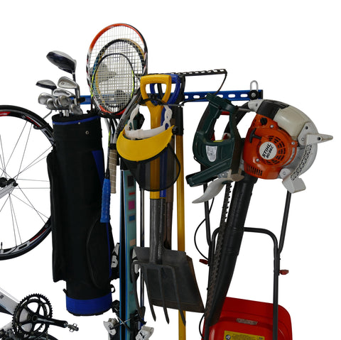 garage wall storage rack. Garage organiser. Garage tidy