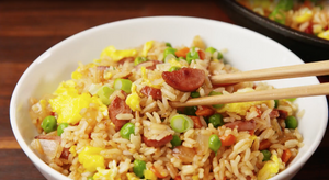 Recipe 7: Hot Dog Fried Rice