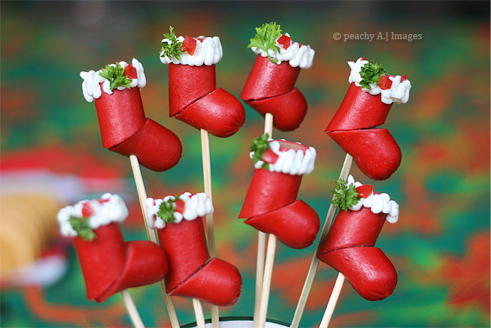 Recipe 11. Christmas Hotdog Stockings