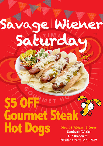 The Savage Wiener™ Saturday🎉🎉