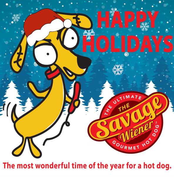 MERRY CHRISTMAS FROM THE SAVAGE WIENER TEAM!