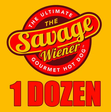 12 Gourmet Steak Wieners - The Savage Wiener