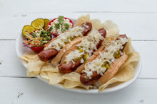 Load image into Gallery viewer, 3 Dozen Gourmet Hot Dogs