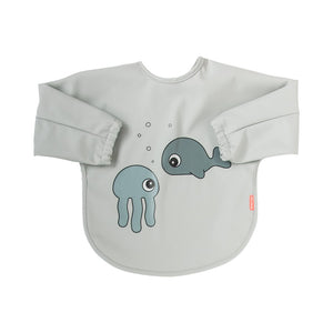 Babero con Mangas 6-18M Sea Friends: Gris