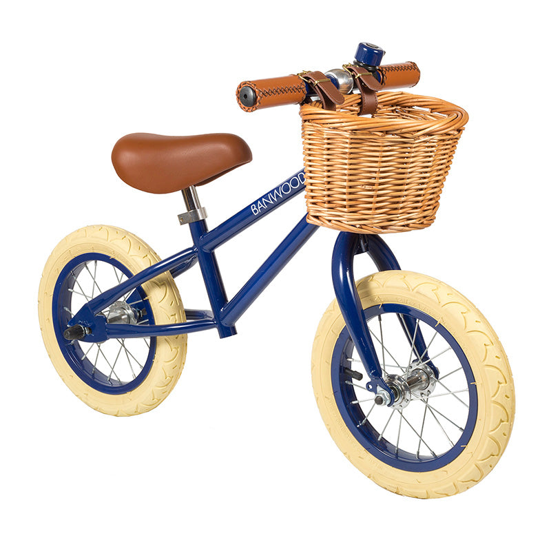 Bicicleta sin pedales First Go: Azul Navy