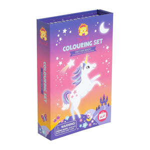 Colouring Set: Unicornios