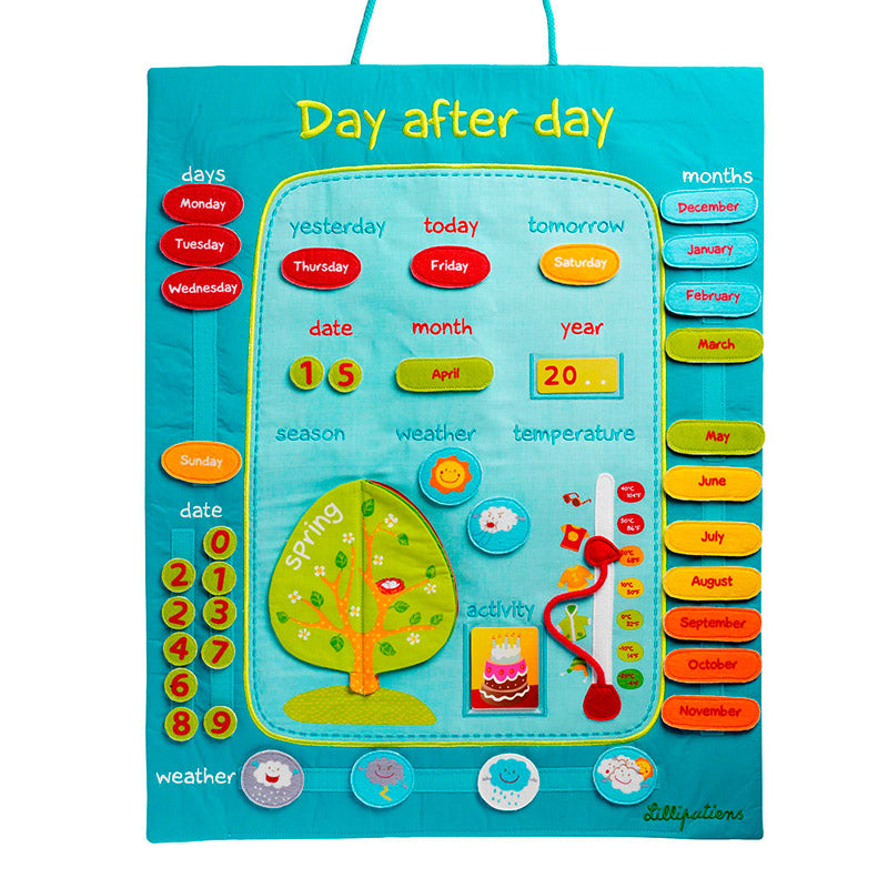 Calendario: Day after Day (Inglés)